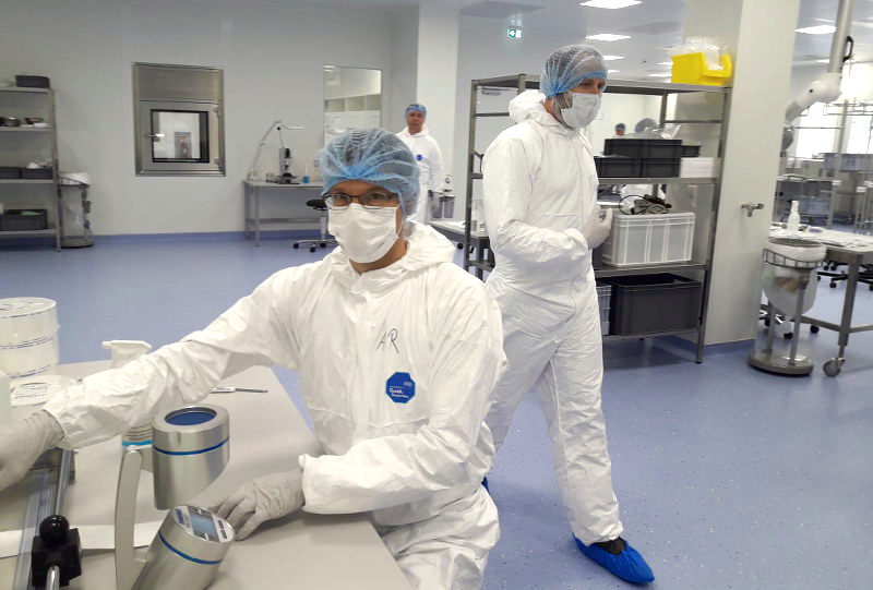 Human Med - New clean room