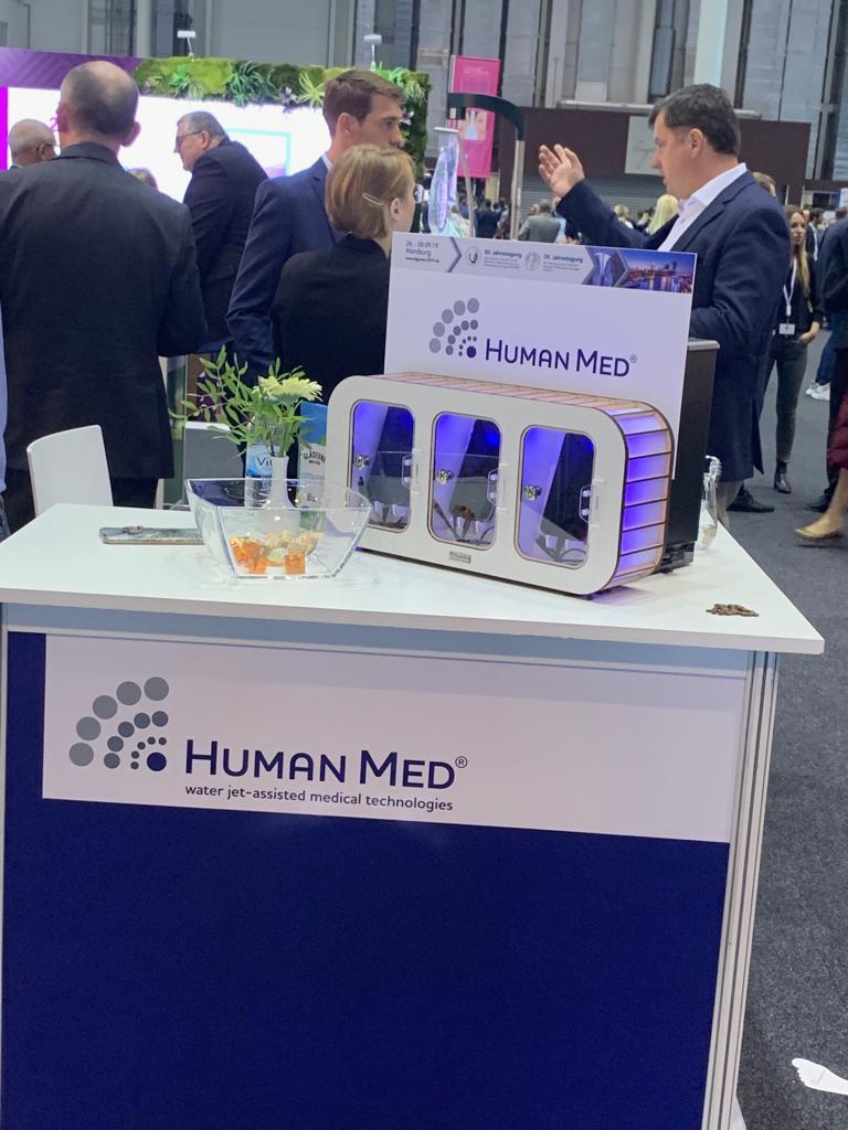 Stand der Human Med AG auf der DGPRÄC in Hamburg