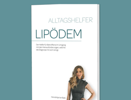 "New book ""Alltagshelfer Lipödem"" – a patient guide in german language by Hendrikje ter Balk"
